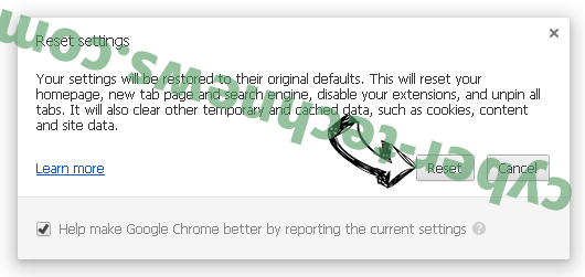 Ertdistakereces.info Chrome reset
