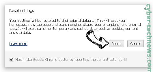 Search.zanzibog.com Chrome reset