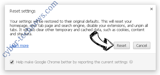Search-Privacy.store Chrome reset