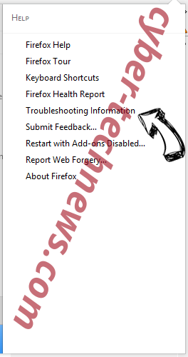 Search.searchjsmts.com Firefox troubleshooting