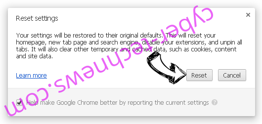 Searchgosearch.com Chrome reset