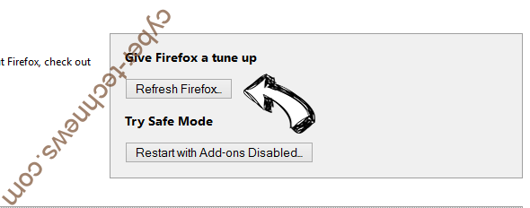 Searchgosearch.com Firefox reset