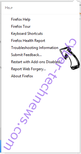 Searchgosearch.com Firefox troubleshooting