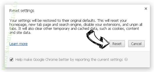 Performingtraffic.com Chrome reset