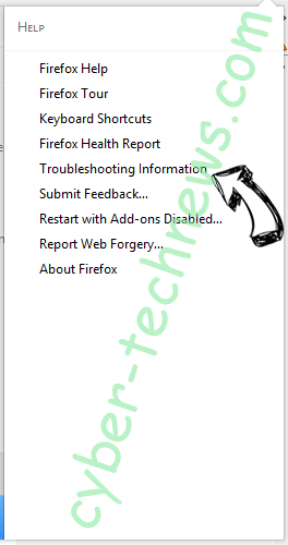 Search.easyprivacyswitch.com Firefox troubleshooting