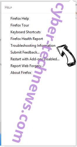 Searchgosearchtab.com Firefox troubleshooting