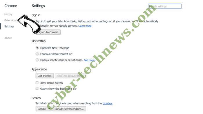 lodder1.biz virus Chrome settings