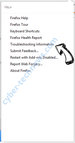 Search.dolanbaross.com Firefox troubleshooting