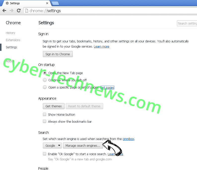 Microsoft Cleanup Virus Chrome extensions disable