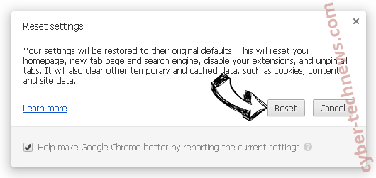 Search.directionsandmapsnowtab.com Chrome reset
