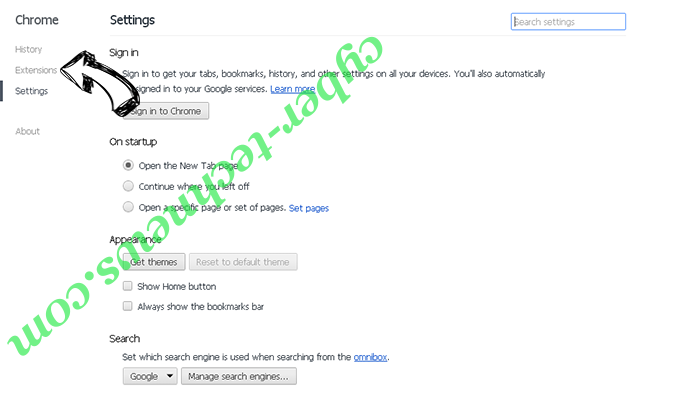 Click-it-now.online Chrome settings