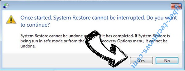 .Muslat Virus removal - restore message