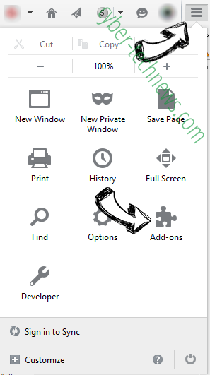 Geting.pro pop-up ads Firefox add ons
