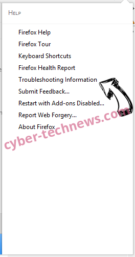 Geting.pro pop-up ads Firefox troubleshooting