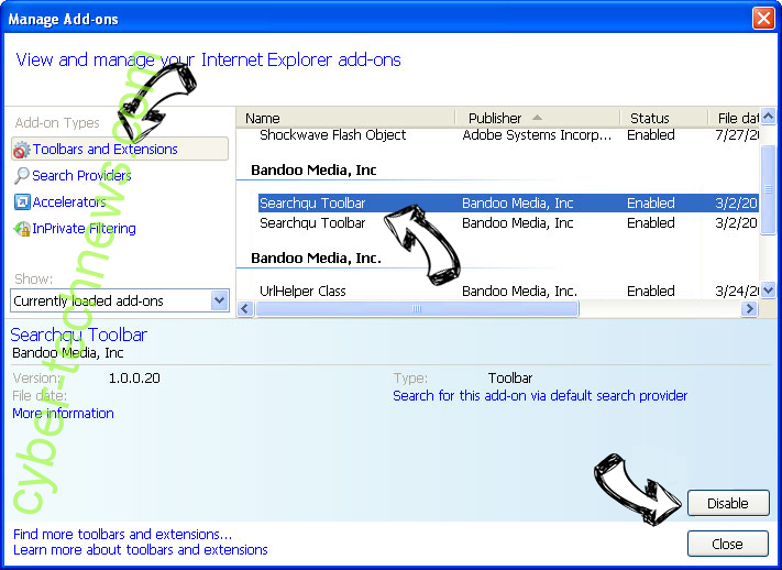 Kiinopoisk.com IE toolbars and extensions