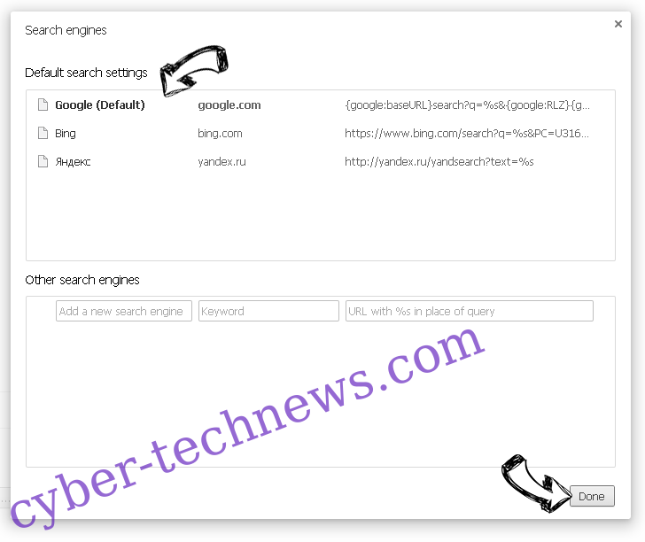 PDF Extra Search redirect Chrome extensions disable
