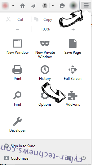 PDF Extra Search redirect Firefox add ons