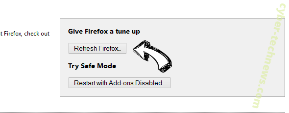 Maps & Driving Directions redirect Firefox reset