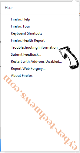 Pushshighert.com pop-up ads Firefox troubleshooting