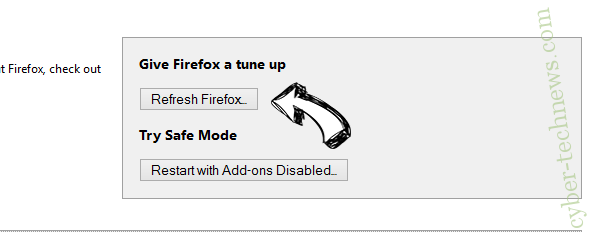 DirectionsOnline Search Redirects Firefox reset