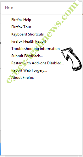 DirectionsOnline Search Redirects Firefox troubleshooting