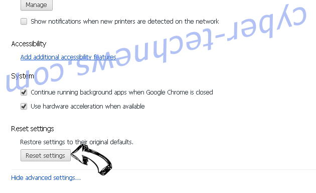Check-out-this.site Chrome advanced menu