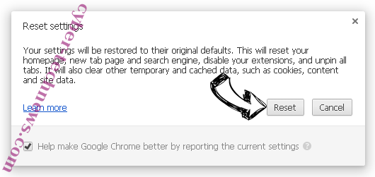 Check-out-this.site Chrome reset