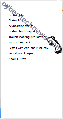 Regevpop virus Firefox troubleshooting