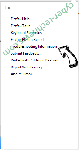 Gosearchresults.com Firefox troubleshooting