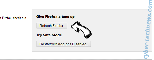 Linkangood.com virus Firefox reset