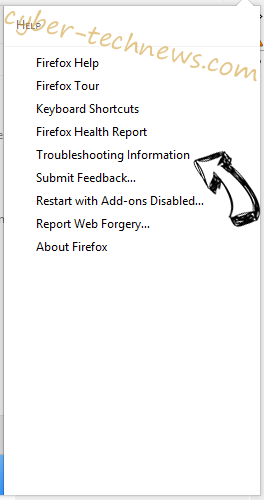 Search.start.fyi Firefox troubleshooting