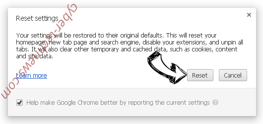 Search14.co Chrome reset