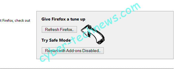 Search-square.com Firefox reset