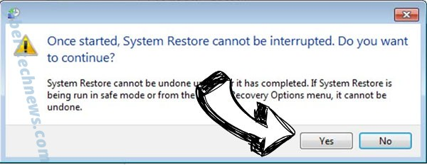 .Gusau file virus removal - restore message
