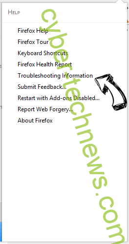 Search.mystartabsearch.com Firefox troubleshooting