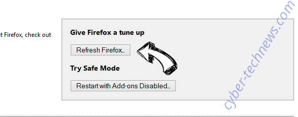 Mbrowser.co Firefox reset