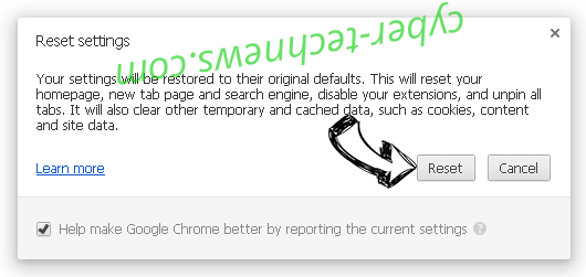 Finesearch.com Chrome reset