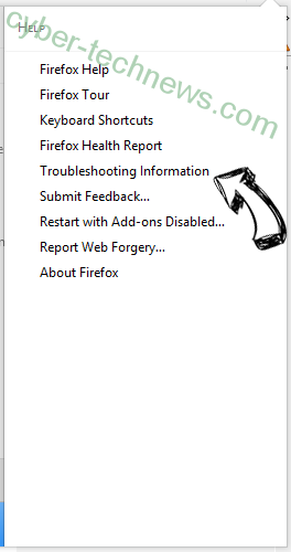 White Screen virus Firefox troubleshooting