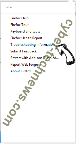 hidemysearches.com Firefox troubleshooting