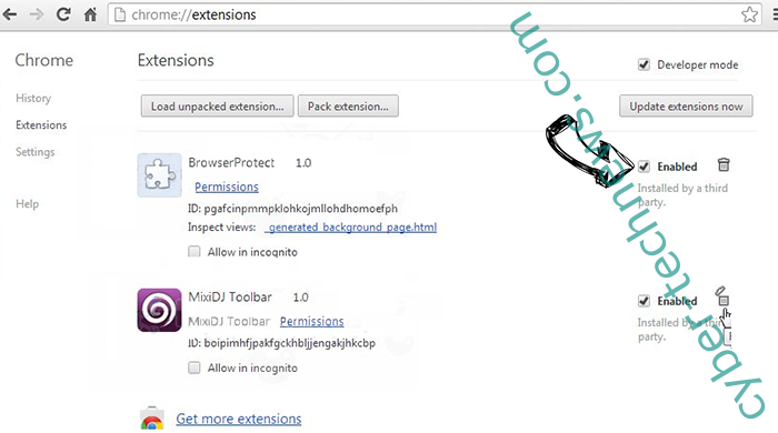 Full PC Care 2.0 Optimizer Chrome extensions disable