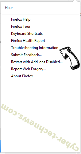 TotalRecipeSearch virus Firefox troubleshooting