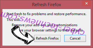 Coupons Flash Virus Firefox reset confirm