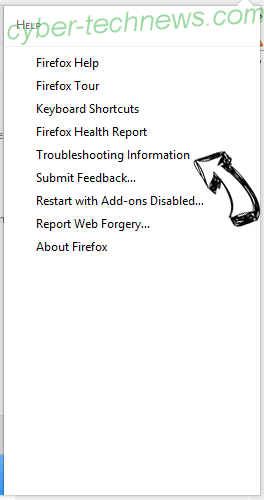search.htrackyourtransitinfo.com Firefox troubleshooting