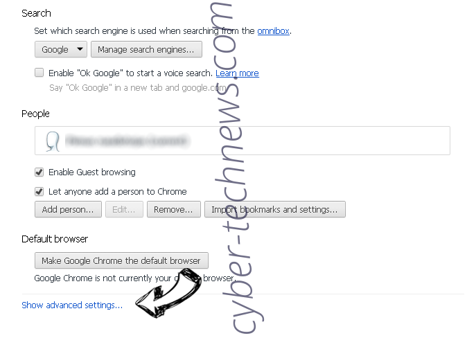 s0.2mdn.net virus Chrome settings more