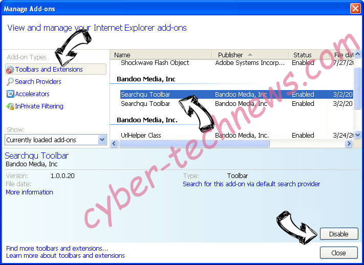 s0.2mdn.net virus IE toolbars and extensions