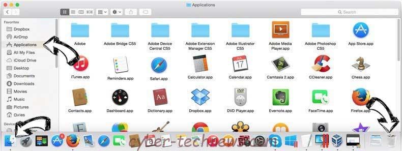 Getappsonline removal from MAC OS X