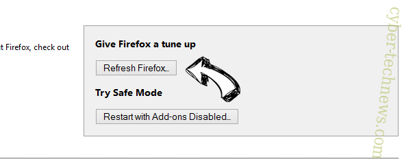FileConvertOnline Firefox reset