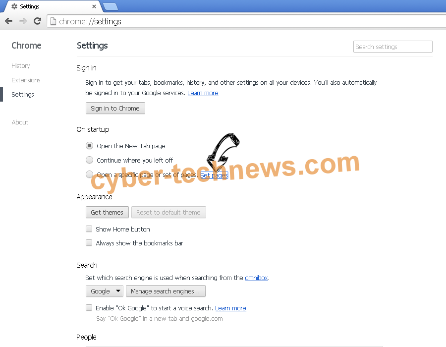 Segurazo Antivirus Virus Chrome settings