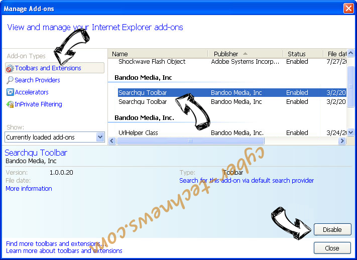 Offer.agency virus IE toolbars and extensions