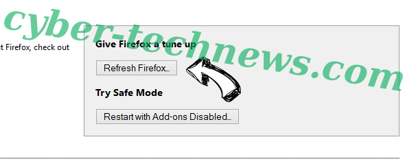 Search14.com Virus Firefox reset